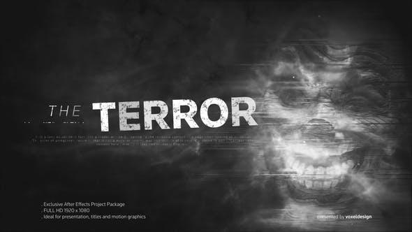 Videohive The Terror opener 22365023