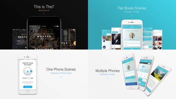 Videohive The7 - App Promo Kit 18359237