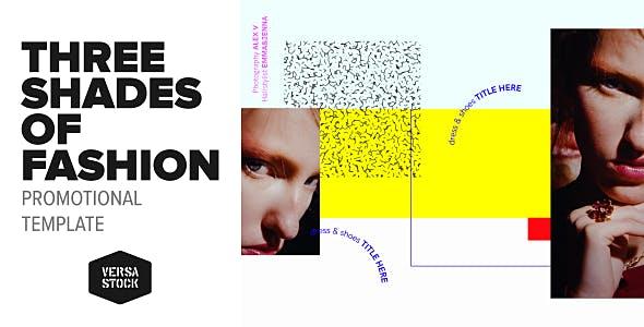 Videohive Three Shades of Fashion Promo 19791218