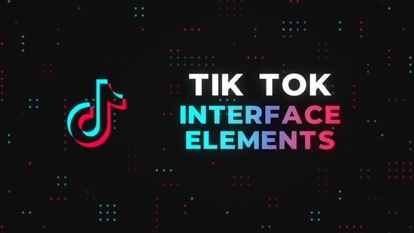 Videohive Tik Tok Interface Elements 26764135