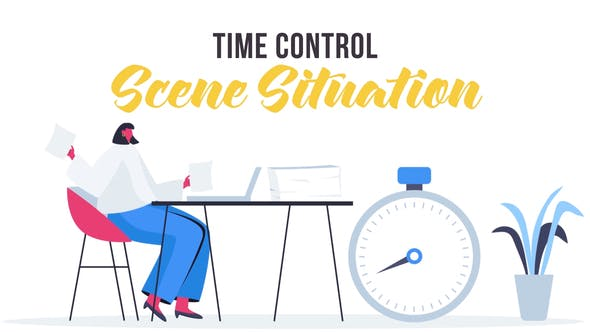 Videohive Time control - Scene Situation 27642934