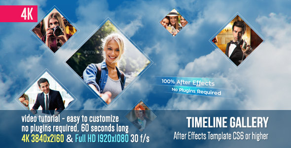 Videohive Timeline Gallery 19890144