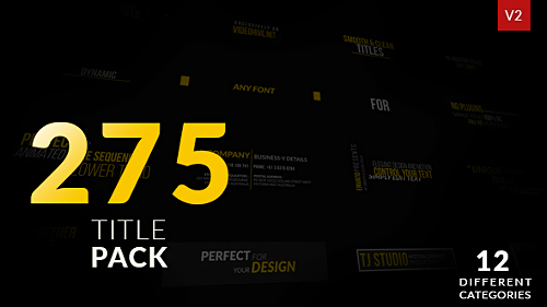 Videohive Titles 19267060