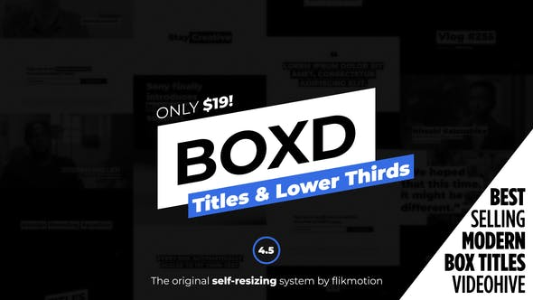 Videohive Titles 21509336