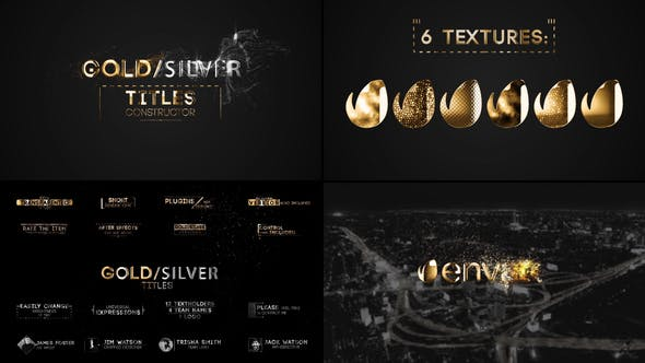 Videohive Titles Constructor 22634518