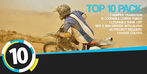 Videohive Top 10 Pack