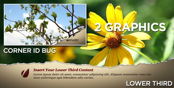 Videohive Torn Lower Third 409877