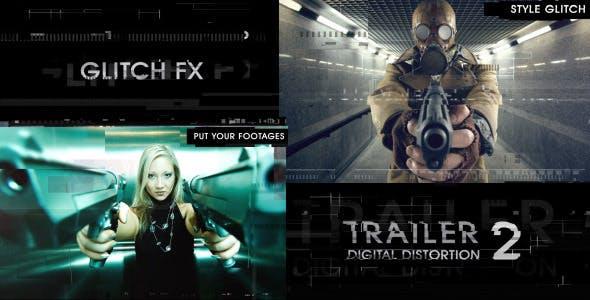 Videohive Trailer Digital Distortion 2 9813162
