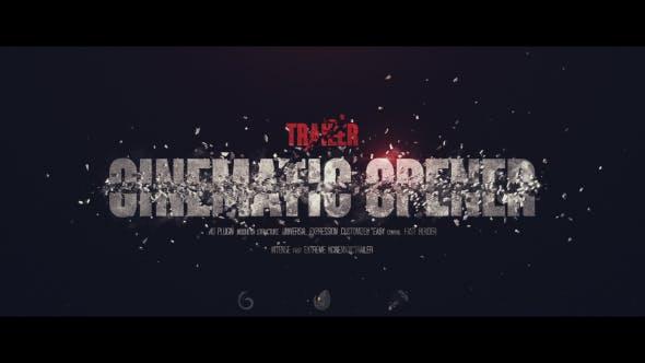 Videohive Trailer I Cinematic Opener 21151252