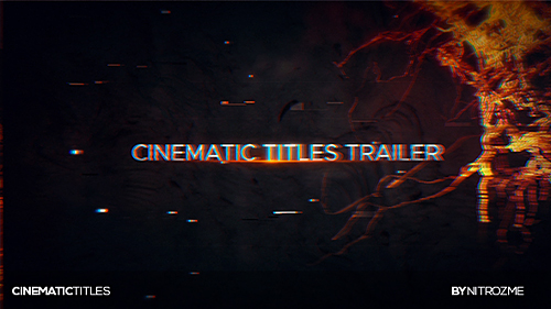 Videohive Trailer Titles 20021910
