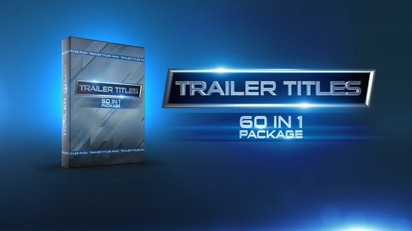 Videohive Trailer Titles Pack 15419714