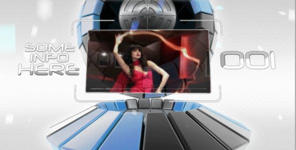Videohive Transforming Sphere 584078