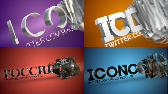 Videohive Transforming Text Reveal 3875471