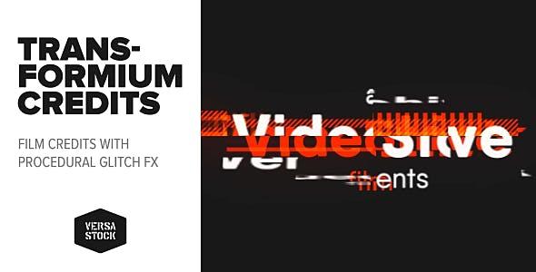 Videohive Transformium Film Credits 21144019