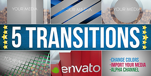 Videohive Transitions 14538673