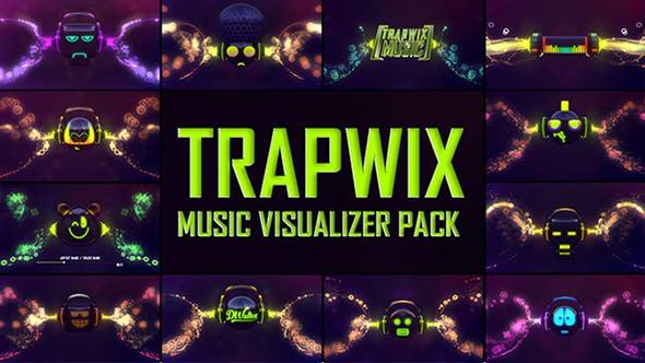 Videohive TrapWix Music Visualizer Pack 20751129