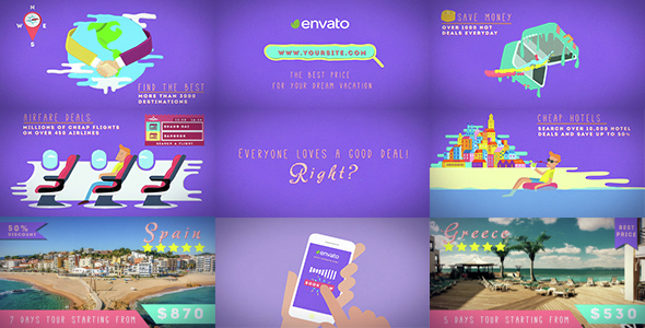 Videohive Travel Deals And Discounts 14752116