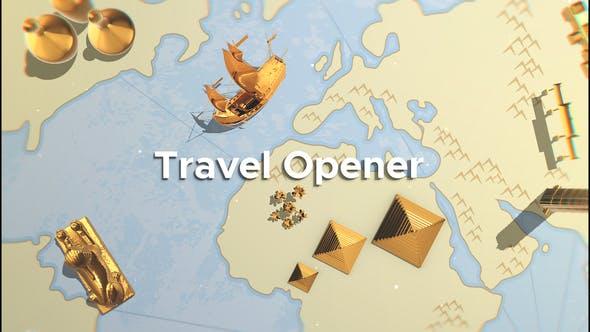 Videohive Travel Opener 23366827