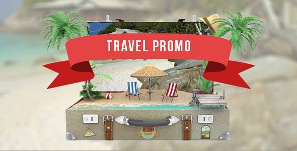 Videohive Travel Promo 13576301
