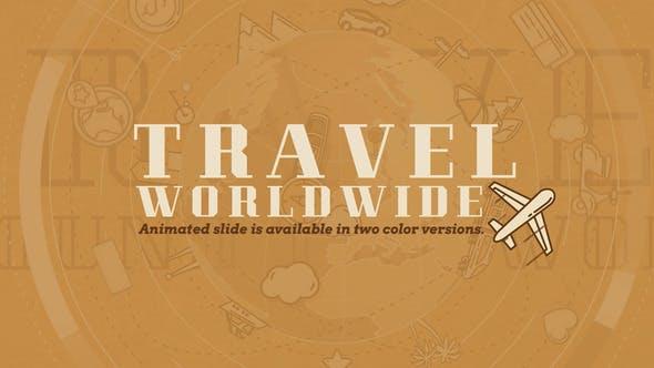 Videohive Travel Worldwide 24762924