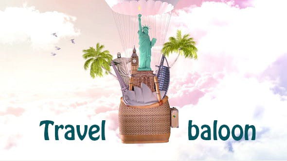Videohive Travel in the Balloon 15939566