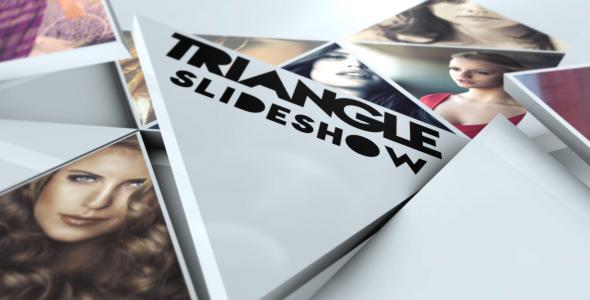 Videohive Triangle Slideshow 19374319