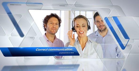 Videohive Triangular - Corporate Slideshow 14838465
