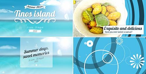 Videohive Trip to Island Summer Album