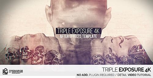 Videohive Triple Exposure 4K 20330391