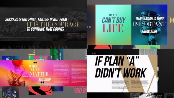 Videohive Typography Slideshow 13209399