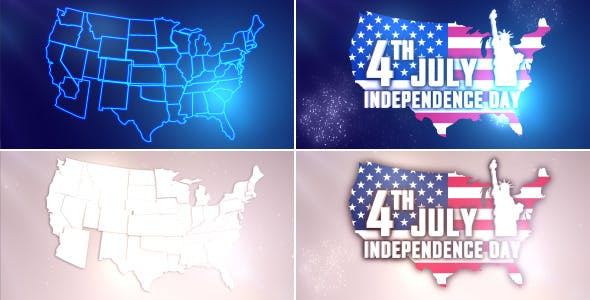 Videohive USA Independence Day Opener 11597392