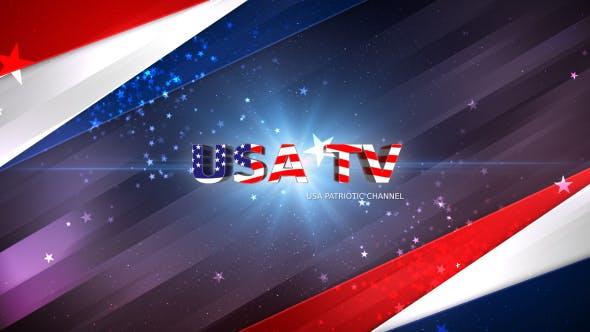 Videohive USA Patriotic Broadcast Pack 16688143