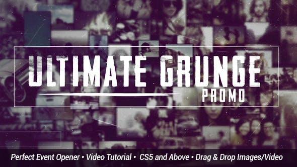 Videohive Ultimate Grunge Slideshow 11122558