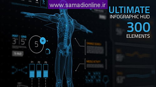 Videohive Ultimate Infographic HUD [300]