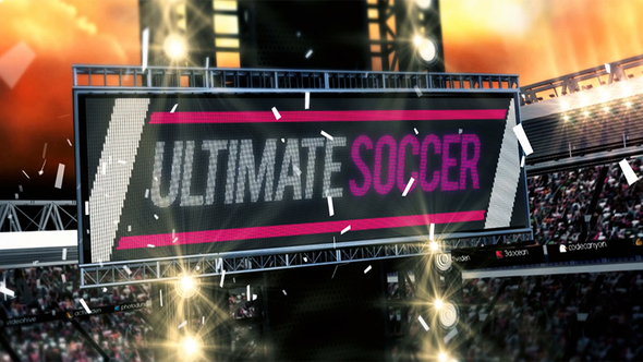 Videohive Ultimate Soccer Broadcast Pack 5283210
