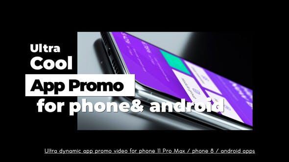 Videohive Ultra Cool App Promo 25550744