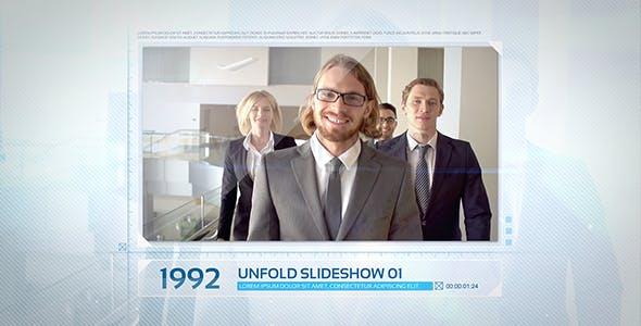Videohive Unfold Photo Slideshow 16653415