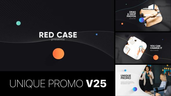 Videohive Unique Promo v25 Corporate Presentation 23708671