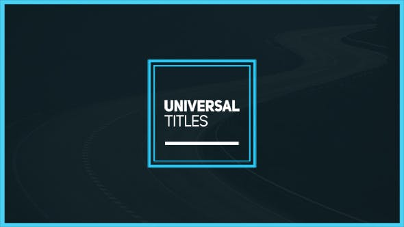 Videohive Universal Titles 17468196