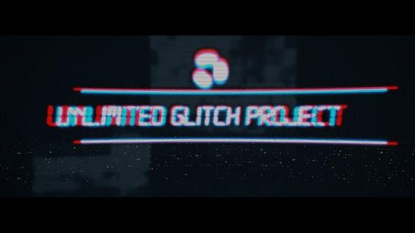 Videohive Unlimited Glitch 8278957