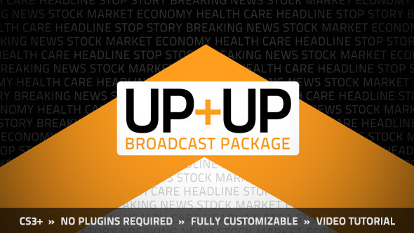 Videohive Up Up Broadcast Package 5697347