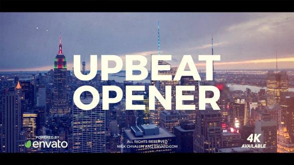 Videohive Upbeat Opener 20523426