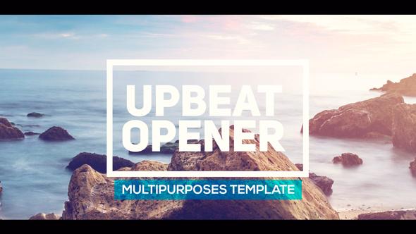 Videohive Upbeat Opener 20815313
