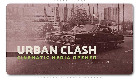 Videohive Urban Clash Cinematic Media Opener 20975494