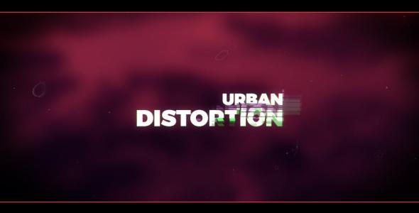 Videohive Urban Distortion 20131150