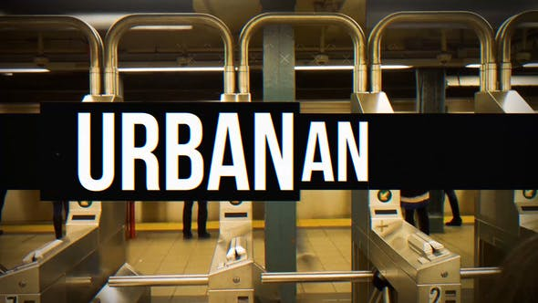 Videohive Urban Intro 21163852