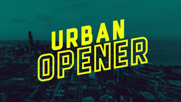 Videohive Urban Opener 21707877