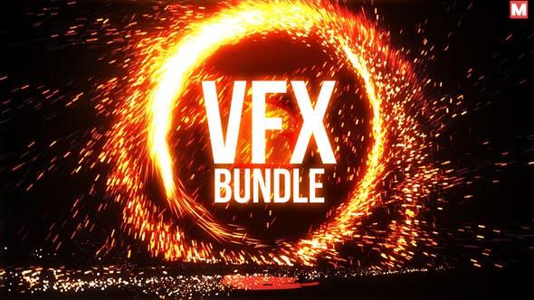 Videohive VFX Bundle + Logo Reveals 19179571