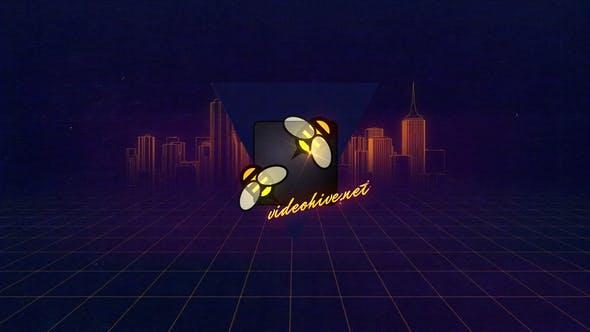 Videohive VHS Logo Opener 15468764