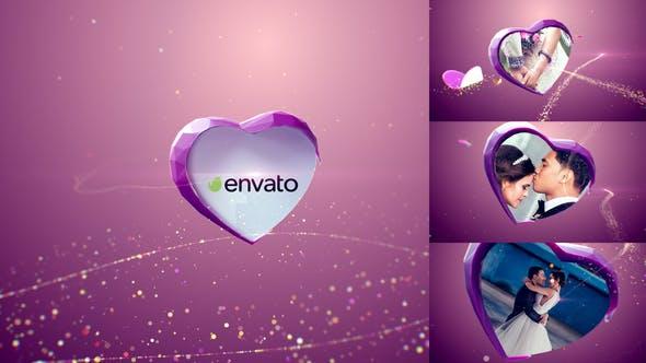 Videohive Valentine Wedding Slideshow 22681251